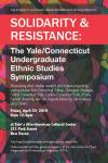 ER&M Symposium Solidarity  and Resistance poster